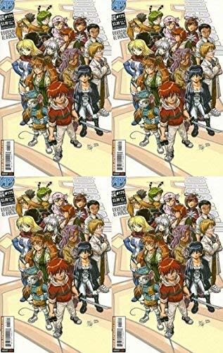 Ninja High School #175 (1986-1987, 1994-2009) Limited Series APE Entertainment Comics - 4 Comics