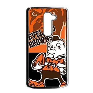 SKULL Cleaverland Browns Fahionable And Popular Back Case Cover For LG G2