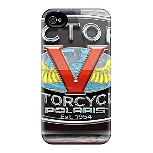 Durable Case For The Iphone 4/4s- Eco-friendly Retail Packaging(victory Logo)