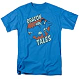 Dragon Tales Animated PBS Series Flying High with Dragon Pal Adult T-Shirt Tee