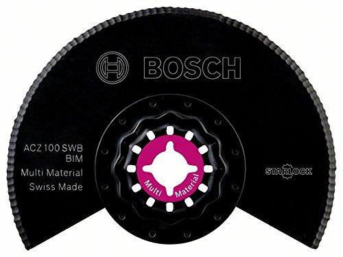 Bosch 2609256976 DIY PMF Segmentwellenschliffmesser ACZ 100 SWB BIM 100mm