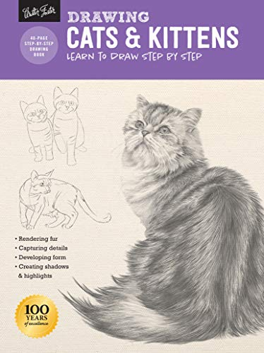 Drawing: Cats & Kittens: Learn to draw step by step (How to Draw & Paint)