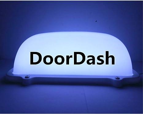 Amazon.com: Cargador USB blanco TAXI Luz superior de techo ...