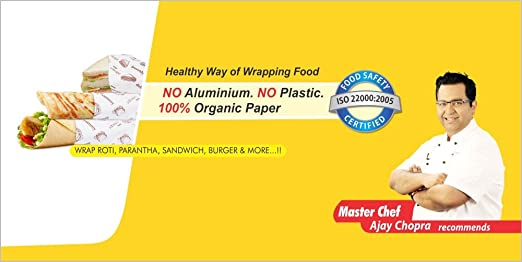 buy oddy uniwraps food wrapping paper 278 mm x 20 m online at low prices in india amazon in