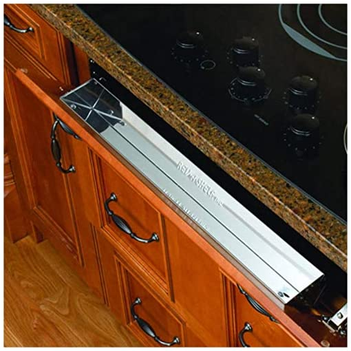 Kitchen Rev-A-Shelf 6581 Series 25-inch Stainless Steel Tip-Out Tray tip-out trays