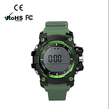 smart watch reloj inteligente Mujer Hombre con Notificación de WhatsApp Monitor de Ritmo Cardíaco Monitor de