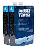 Sawyer Products SP114 Squeezable Pouch, 64-Ounce, 2-Pack