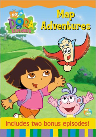 Dora the Explorer - Map - Outlets Map California