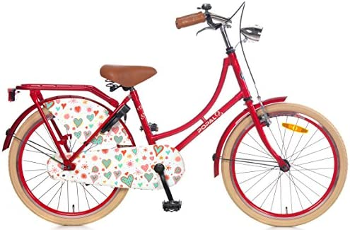 Bicicleta Chica 22 Pulgadas Popal Omafiets con Freno Delantero al ...