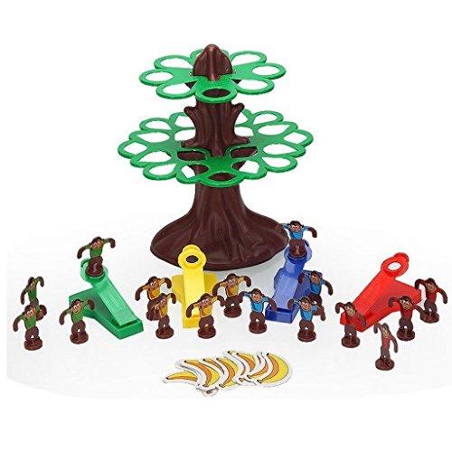 【ノーブランド品】 ジャンプサル ツリーを 飛行サル バナナを獲得ゲーム 教育玩具 キッズおもちゃ ギフト