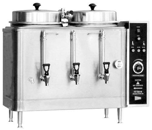 (Cecilware Stainless Steel Twin Chinese Hot Tea Urn, 3 Gallon -- 1 each.)