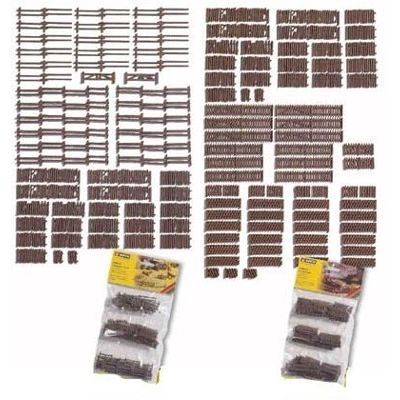 Used, Noch 33095 Rural Fences 53Sect 170Cm N Scale  Model for sale  Delivered anywhere in USA