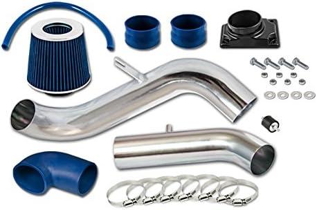 BLACK BLUE 00-05 MITSUBISHI ECLIPSE//99-03 GALANT 2.4L I4 3.0L V6 AIR INTAKE KIT