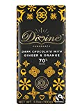 Divine Chocolate 70% Dark Chocolate with Ginger and Orange Bar, 3.5 Ounce (Pack of 10) Review
