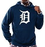Detroit Tigers Navy Mens Majestic Scoring Position Hoodie Sweatshirt