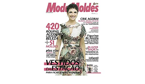 9ff068397 Moda Moldes 54 (Portuguese Edition) eBook: On Line Editora: Amazon.es