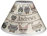 RNK Shops Hipster Cats Coolie Lamp Shade (Personalized)