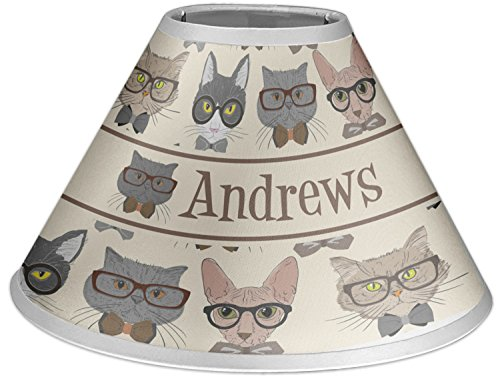 RNK Shops Hipster Cats Coolie Lamp Shade (Personalized) by RNK Shops