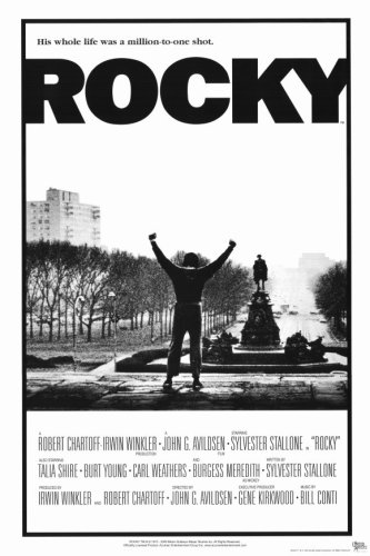 Pop Culture Graphics Rocky (1977) - 11 x 17 - Style A (Poster Classic Movie Film)