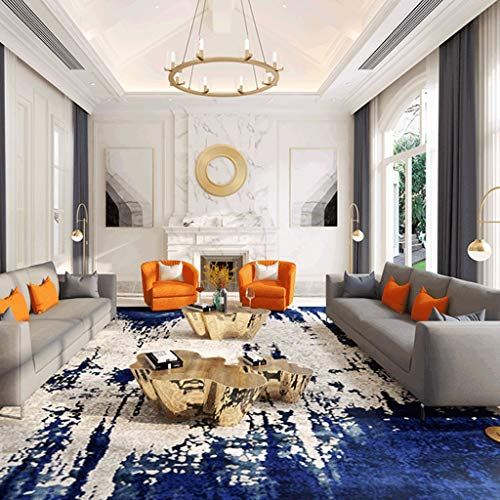 Amazon.com: JXLBB Alfombra de salón moderna, de lujo, color ...
