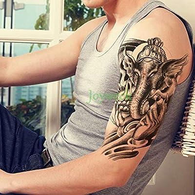 Handaxian 3pcs Impermeables Tatuaje de la Serpiente Etiqueta ...