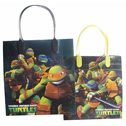 Ninja Turtles Party Favor Goody Gift Bag - 8