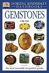 Over 130 gemstones are depicted with description, occurrence, composition, crystal structure, luster, and other details.