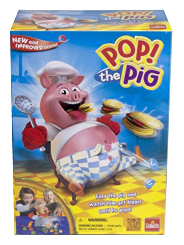 Pop the Pig Game — New and Improved — Belly-Busting Fun as You Feed Him Burgers and Watch His Belly Grow - Doggie Doo Game
