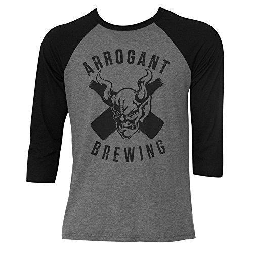 Arrogant Bastard Baseball Sleeve Tee Shirt M