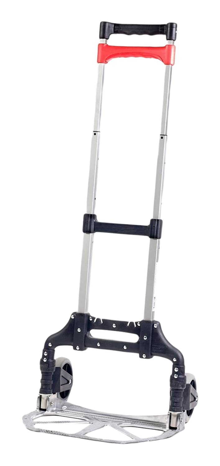 Bovado USA BOV 16636 Hand Truck Folding Aluminum Cart Movers Dolly for Moving Needs