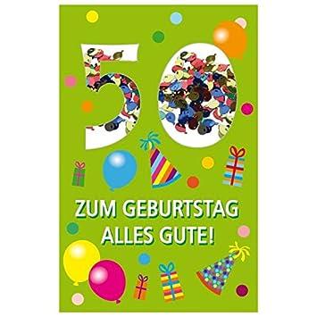 Susy Card 40010267 tarjeta de cumpleaños, 50 cumpleaños ...