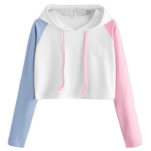 fd37b8f23de Amazon.com  BOLUOYI Sweatshirts for Women Plus Size