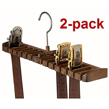 2-PACK Tenby Living Belt Rack, Organizer, Hanger, Holder - Stylish Belt Rack,...