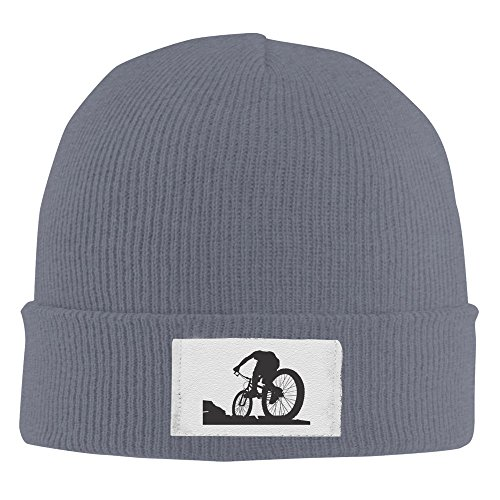 Mountain Bike Race Asphalt Sweat Beanie