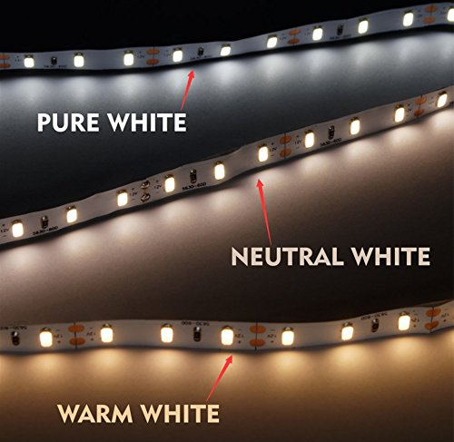 Marswell High Quality Led Strip Lights Warm White Pure