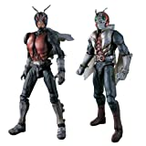 SIC S.I.C Super Imaginative Chogokin Vol.18 Kamen Masked Rider V3 & Riderman 2007 Bandai