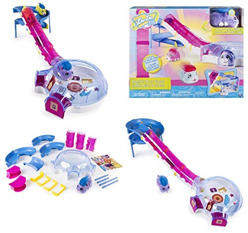 Tunnel Playset (Zhu Zhu Pets - HAMSTER HOUSE PLAYSET with Slide and Tunnel - Includes Exclusive Winkie Hamster. This Playset is the Ideal Home for all your Zhu Zhu Pets)