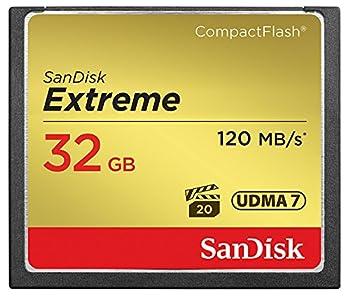 Sandisk Extreme Sdcfxsb-032g-g46 32gb Compactflash Memory Card 0