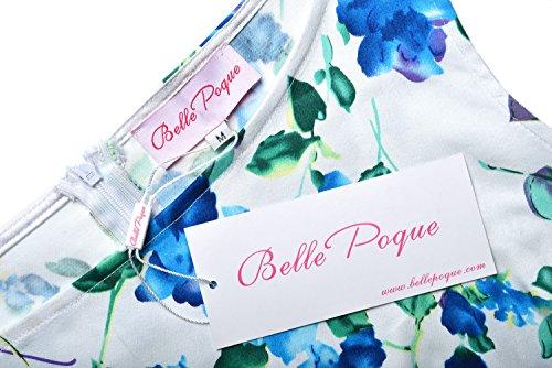 Swing De Floral 50 nbsp;Fiesta Años de Vintage 5 Poque® bp02 Cócteles Vestidos Belle Mujeres x1BwYvvp