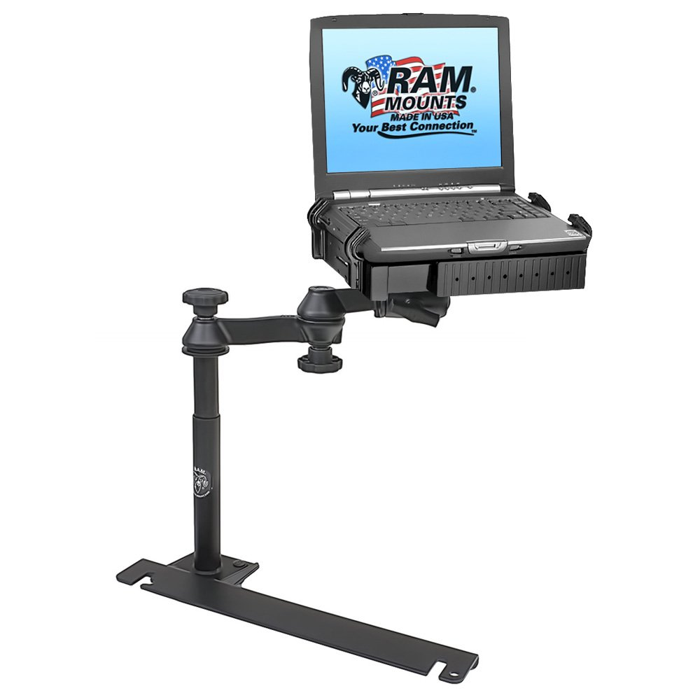 No-Drill(TM) Laptop Mount for the Dodge Challenger, Charger, Magnum, Sprinter Van, Freightliner Sprinter Van & Mercedes Sprinter Van