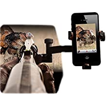 S4 Gear JackKnife Smartphone Tube Mount for use on your Shotgun,ATV,  Golf Cart, Etc. Compatible with iPhone, Samsung Galaxy and more