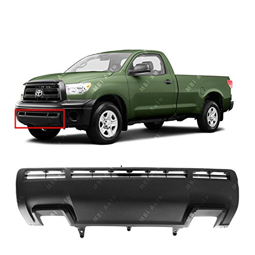 (MBI AUTO - Textured, Front Bumper Center Lower Valance for 2010 2011 2012 2013 Toyota Tundra Pickup 10 11 12 13, TO1095202)