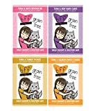 BFF 3 Oz Cat Food Variety 12 Pouches with 4 Flavors – Devour Me, Baby-Cakes, Tickles, and Sweet-Cheeks