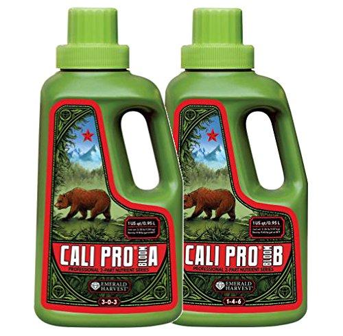 Emerald Harvest Cali Pro Bloom A+B Fertilizer Combo, 0.95 L
