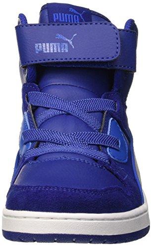 Puma Rebound Street Sd V PE Sneaker, Mazarine Gray Blue Violet 11,5 /