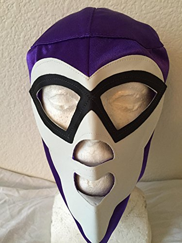 [REY MYSTERIO Purple kids size WRESTLING MASK NACHO LIBRE MASK] (Childrens Nacho Libre Costume)