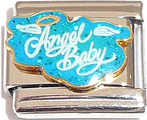 Angel Baby Light Blue Italian ()