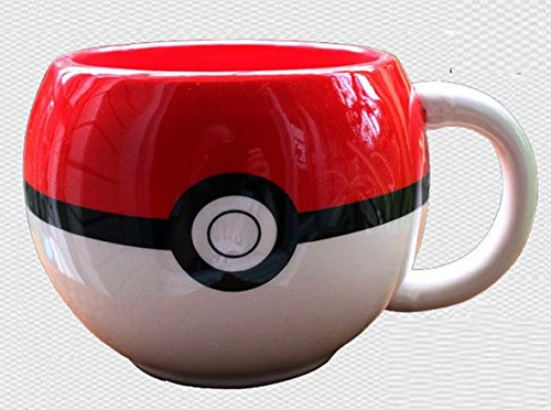 easygoal-Anime Pocket Monster Pokemon Poke Ball Cosplay Cup Mug Bottle Cute Cos Gift Pokemon Go,Pikachu