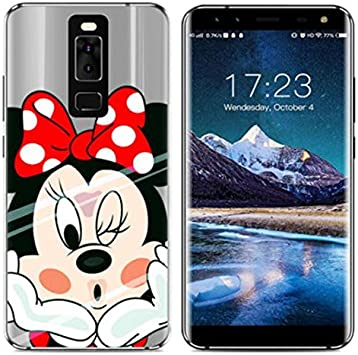 PREVOA Funda para Leagoo S8 - Colorful Silicona TPU Funda Case ...