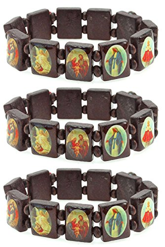 PURPLE WHALE Religious Bracelet Pictures